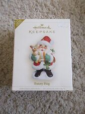 2006 Hallmark Ornaments Bunny Hug Limited Edition