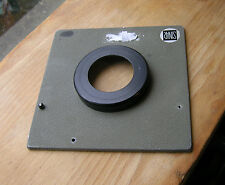 genuine Sinar Norma F & P  lens board panel with copal 1 hole  step out 11mm