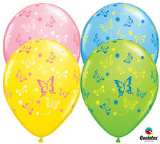"""10 pc - 11"""" Colorful Butterfly Latex Balloon Birthday Bridal Baby Wedding Shower"""