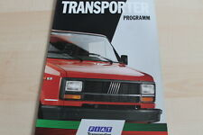 122120) Fiat Ducato + Fiorino + Talento Prospekt 02/1990