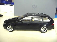 Kyosho 1:18 BMW 5er Touring E61 black Dealer Edition SHIPPING FREE WORLWIDE