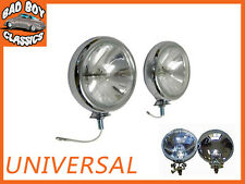 "5"" Pair Polished Chrome Halogen Spot Lamps"