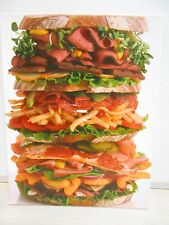 The Dagwood Sandwich 500 Piece Jigsaw Puzzle Colorful & Delicious Ages 8 & Up