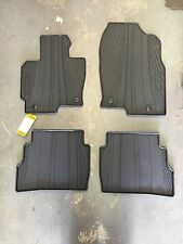 MAZDA CX-5 FACTORY OEM ALL WEATHER RUBBER FLOOR MATS SET NEW EXACT FIT 2013-2016