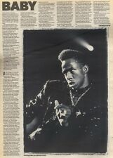 9/9/89Pgn36 Article & Picture 'million Dollar Baby' Bobby Brown Is Riding High