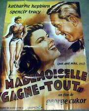 MADEMOISELLE GAGNE-TOUT - Hepburn,Cukor - AFFICHE 120x160/47x63 FRENCH POSTER RR