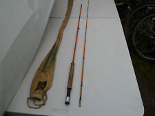 "Rare hardy ""the continental"" spécial palakona split cane fly rod"
