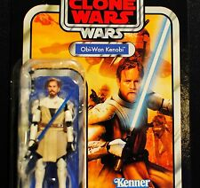 Star Wars Vintage Collection The Clone Wars Obi Wan Kenobi Unpunched VC103 MOC