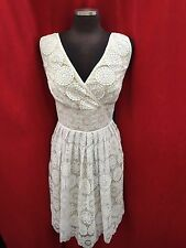 """Adrianna Papell Dress /RETAIL$199/SIZE 24W/LACE/WHITE/NEW WITH TAG/LENGTH43""""/"""