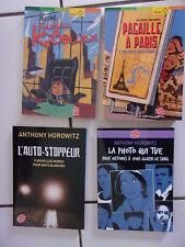 lot 4 livres ANTHONY HOROWITZ signé Frédéric K Bower, pagaille à Paris, la photo