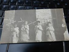 """CHRISTIAN BOYS""  Baghdad   from a WW1 SOLDIERS ALBUM  PHOTO ORIG 130 X 70 mm"
