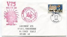 1995 ELA2 Lancement V69 Base Kourou Guyane Ariane 40 Helios 1A UPM SAT NASA