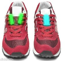 CLICKS.LIFE magnetic shoe laces closures clasps buckles Glowing in the dark 100%