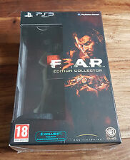 F.3.A.R. FEAR F.E.A.R. Édition Collector Jeu Sony Playstation 3 PS3 Neuf Blister