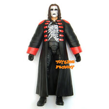 WWE Defining Moments Crow Sting Entrance Coat Elite Wrestling Action Figure Toy