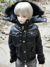 [wamami]Quilted Jacket/Coat/Outfit 1/4 MSD BJD Dollfie Black