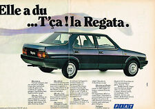 PUBLICITE  1984   FIAT   REGATA ES  (2 pages)