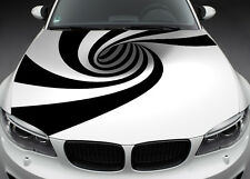 Full Color Graphics Adhesive Vinyl Sticker Fit any Car Hood/Bonnet Abstract #016