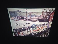 "Albert Marquet ""Beach Carnival"" Fauvism French Art 35mm Glass Slide"