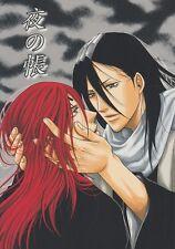 Bleach YAOI Doujinshi Dojinshi Comic Manga Byakuya x Renji Night Book Piece