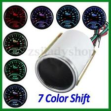 "2"" 52mm 7 Colors Change Exhaust Gas Temp Temperature Gauge Pyrometer EGT Sensor"