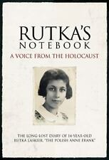 Rutka's Notebook: A Voice from the Holocaust diary of the Polish Anne Frank