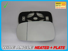 RENAULT SCENIC MK2 2003-2009 Wing Mirror Glass Wide Angle HEATED Left Side #H015