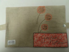 Garden Notes Note Book Cover Protective Fabric Gift Present Slip On  #21A31