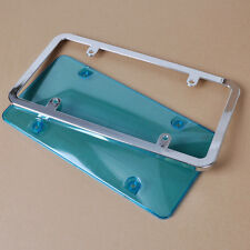 Chrome License Plate Frame Combination Universal for Almost All Cars Trucks