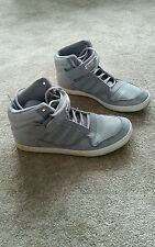 Mens Adidas high top trainers size 9