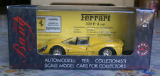 Bang 1:43 7142 Ferrari 330 P4s yellow