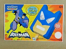 "2008 New Batman Ice Cream Truck Decal Sticker Blue Bunny DC Comics 8"" x 5"""