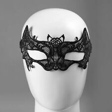Elegant Ladies Women Bat Type Lace Party Face Makeup Mask Funny Halloween Tool T