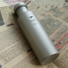 700ml/113g Outdoor Bicycle Cycling Camp Sport Dinkware Titanium Jug Water Bottle