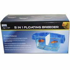 Aquarium 5 in 1 Floating Breeder Breeding Tank x2 Betta Display Isolation Tank