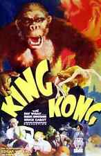 Letrero De Metal King Kong 05 A4 12x8 Aluminio