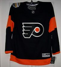 2017 Stadium Series Philadelphia Flyers Reebok Premier Black Jersey 2XL XXL