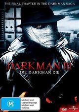 Darkman III: Die Darkman Die * EX RENTAL NOTE DISC ONLY I CAN POST 4 DISCS FOR $