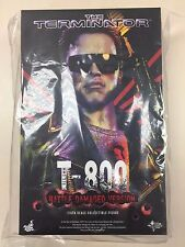 Hot Toys MMS 238 T800 T 800 Terminator Battle Damaged Ver Arnold Schwarzenegger