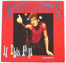 Huey Lewis & The News If This Is It , Change Of Heart , I Want A New Drug Uk 12""