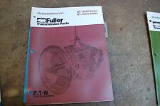 EATON FULLER RT 11610 11615 Series Transmission Parts Manual book catalog truck