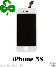 For iPhone 5S LCD Touch Screen Display Digitizer Glass Assembly Unit White