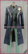 Code Realize Abraham Van Helsing Mens Uniform Suit With Long coat Cosplay Costum