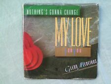 GLENN MEDEIROS nothing's gonna change my love for you/ PIC SLEEVE AMHERST  45