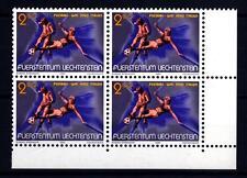LIECHTENSTEIN - 1990 - Campionati mondiali di calcio 1990. Quartina