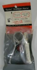 Vintage Unused Quicky Immersion Electric Heater 110 Volt AC/DC In Pkg Boiling
