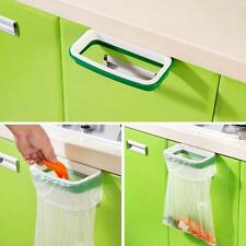 Hanging Kitchen Cupboard Cabinet Tailgate Stand Storage Garbage Bags Rack z5