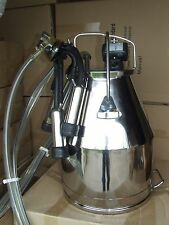 Fresh Cow milking machine 60 lb with Delaval Style Lid