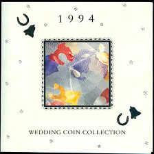 1994 GREAT BRITAIN UNCIRCULATED WEDDING COIN SET