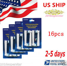 16XReplacement Soft PRECISION CLEAN Toothbrush Heads For Electric Oral-B US SHIP